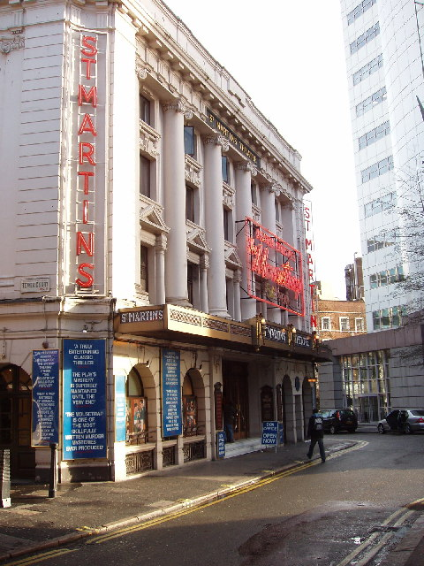 """St Martins Theatre, London, home of """"The Mousetrap"""""""