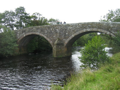 Rede Bridge over the River Rede