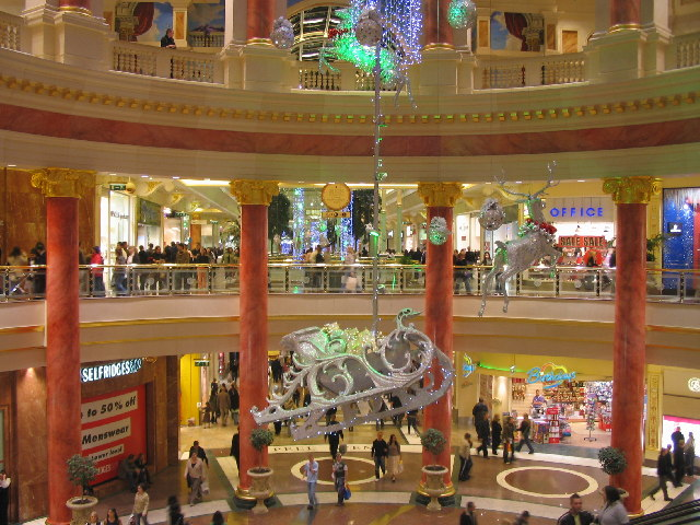 Peel Avenue at the Trafford Centre
