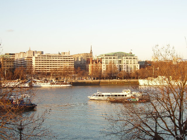 River Thames from the National Theatre