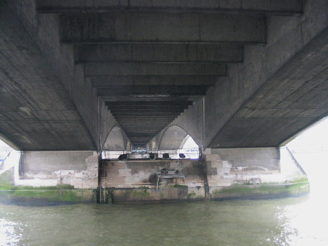 Underneath Waterloo Bridge