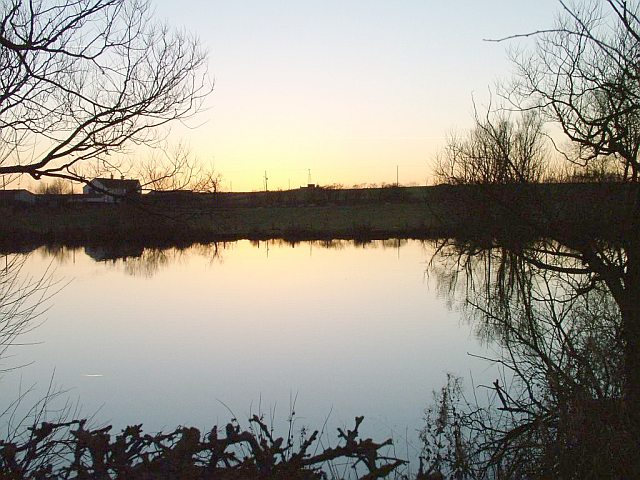 Roadside Pond looking to Hewitson Hill Farm