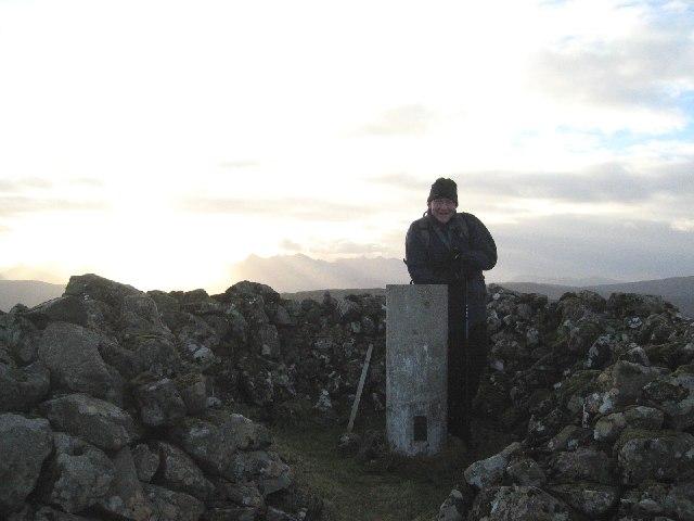 Summit of Beinn na Greine