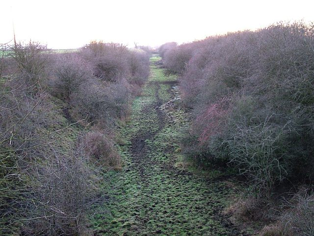 Richmond Branch Line Trackbed, North Cowton