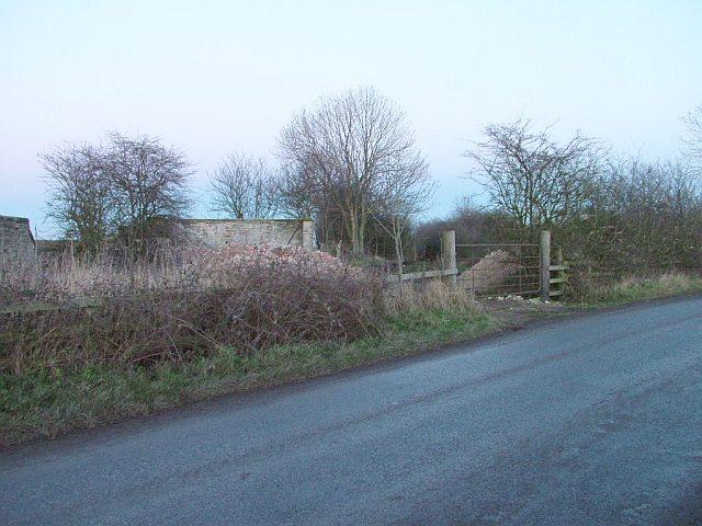 Former Straggleton Gates Level Crossing