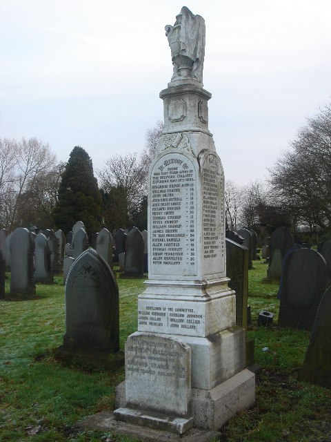 Bedford Colliery monument, Leigh Cemetery