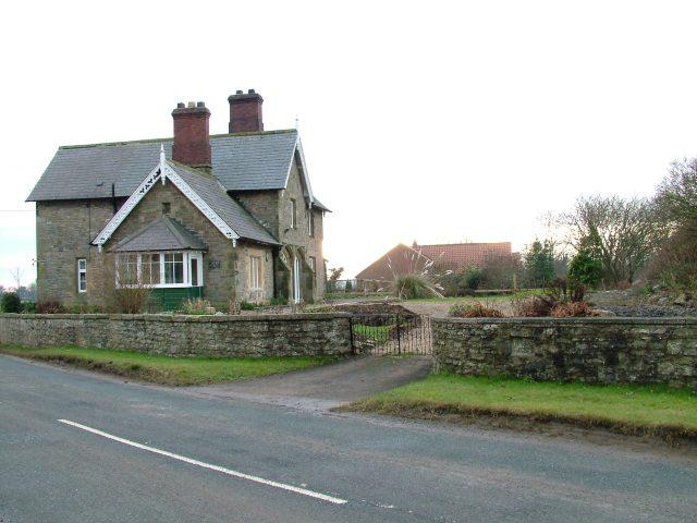 Former Scorton Station, North Yorkshire