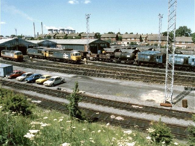 Knottingley Railway Depot