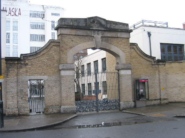 The Alaska Factory Gate, Bermondsey, SE1