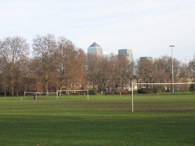 Southwark Park, Rotherhithe, SE16