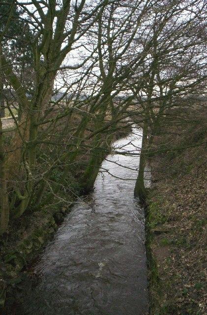 Rainford Brook from Mill Lane Bridge