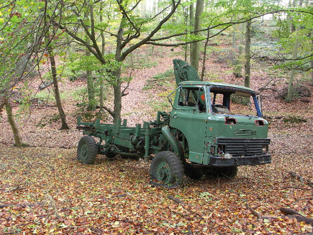 Abandoned Truck in Crowell Wood