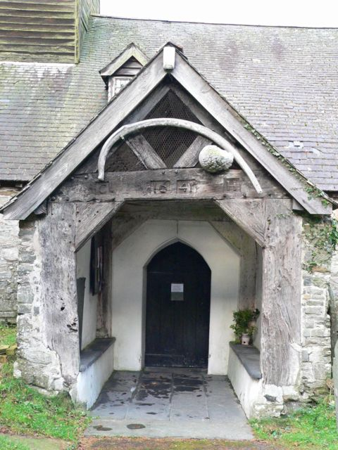 Mallwyd Church Porch