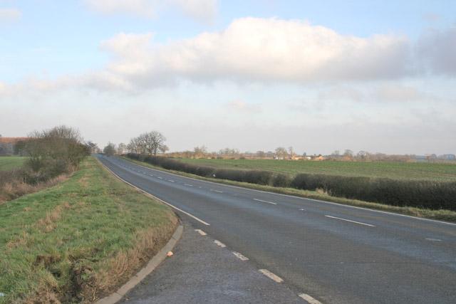 A 607, near Croxton Kerrial