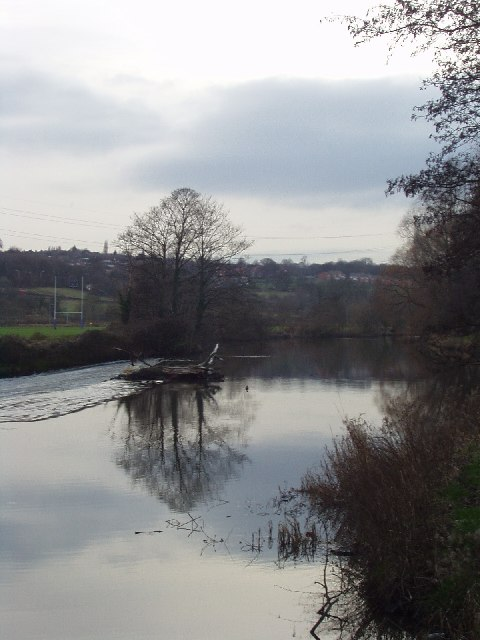 Kirkstall Abbey Weir, River Aire, Leeds