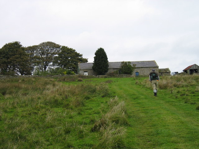 Stell Green north of Sewingshields and Hadrian's Wall