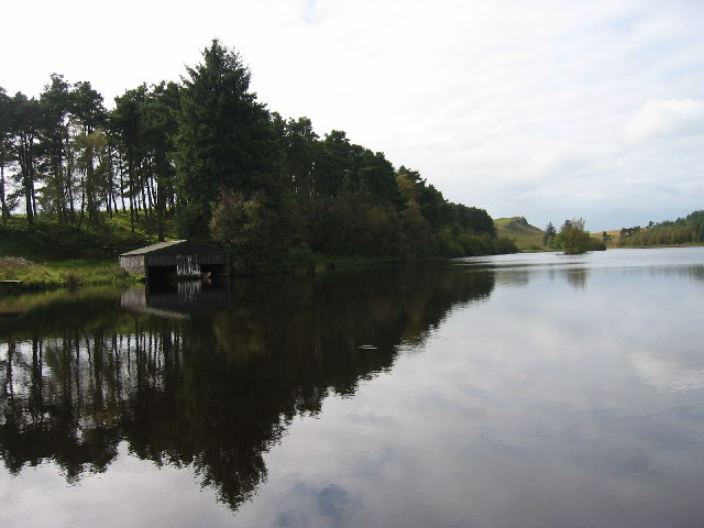 Folly Lake, north of Sewingshields