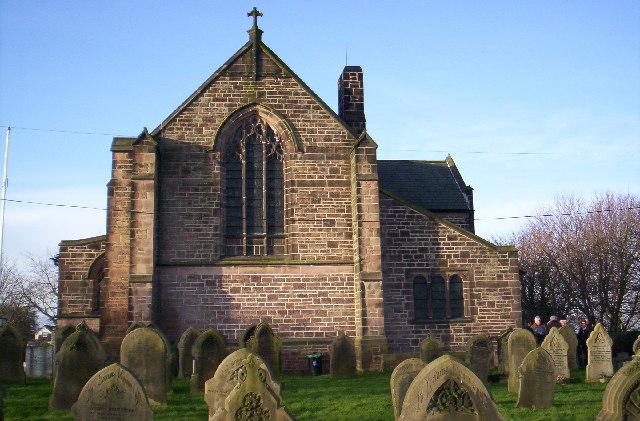 St Thomas, Lydiate (east end)