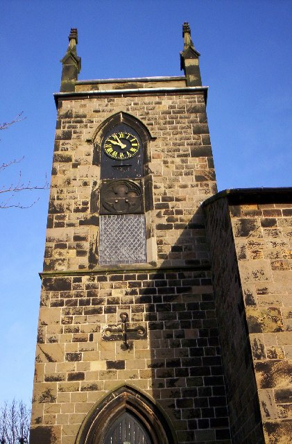 St Thomas, Lydiate (tower detail)