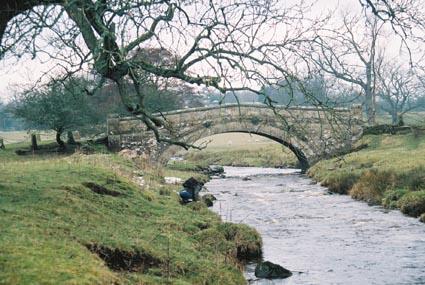 Nunwick Bridge near Nunwick Hall