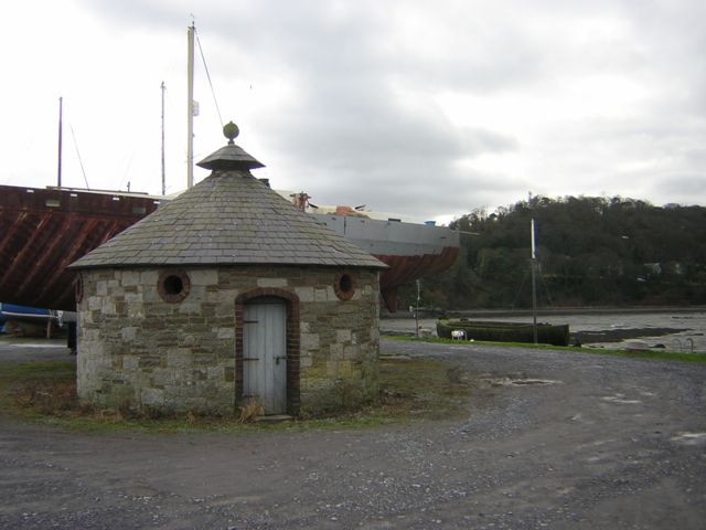 The 10 seater Privy, Porth Penrhyn, Bangor.