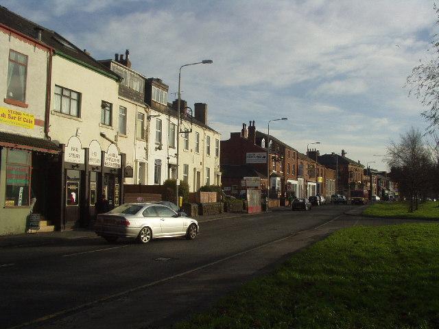 Burley Road from Woodsley Road junction, Leeds
