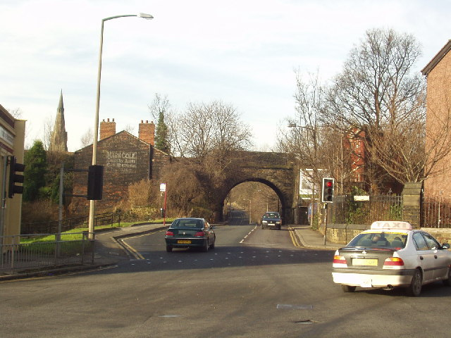 Railway Bridge over Burley Road, Leeds