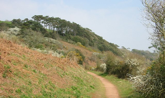 On the Path to Hooe Lake Valley