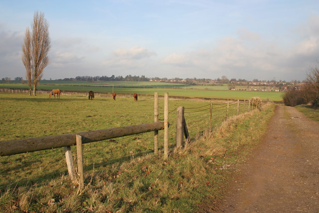 Farmland near Barrowby, Lincolnshire