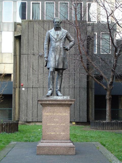 Statue of Robert Stevenson
