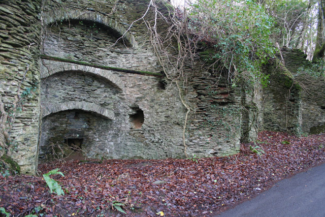 Treborough: limekilns in Treborough Wood