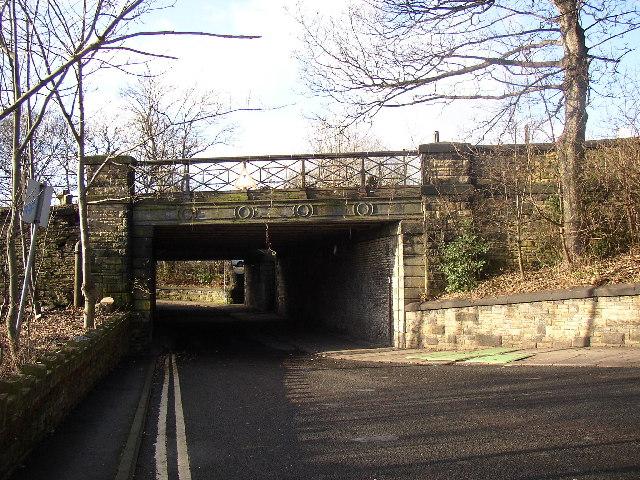 Railway Bridge, Bath Place, Cleckheaton