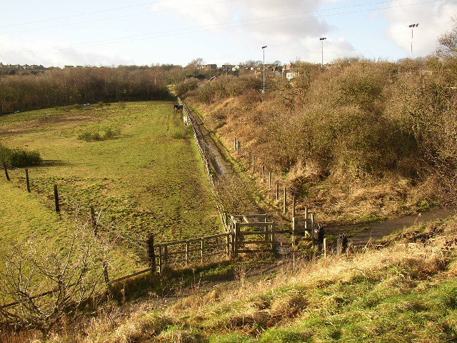 Footpath to the west of the Greenway, Liversedge