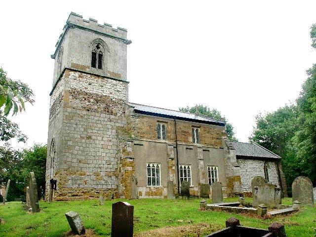 The church of St Helen, Brigsley