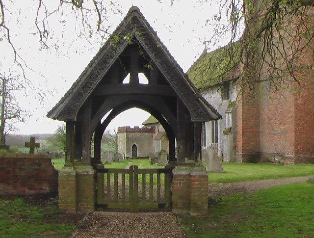 The Lych Gate, St Mary's Church, Gestingthorpe