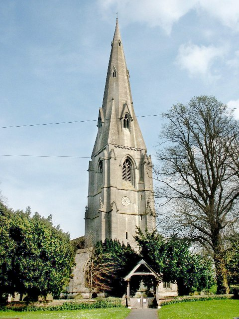 The church of St Andrew, Ewerby