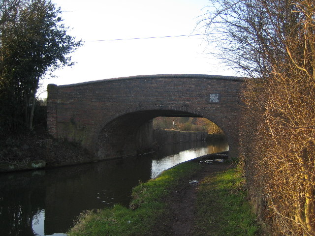 Coventry Canal, Bridge 36, Mancetter