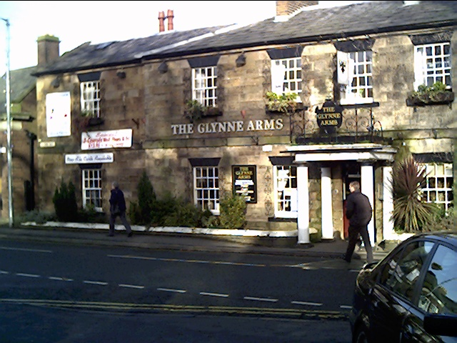 The Glynne Arms Pub opposite Hawarden Castle Gates