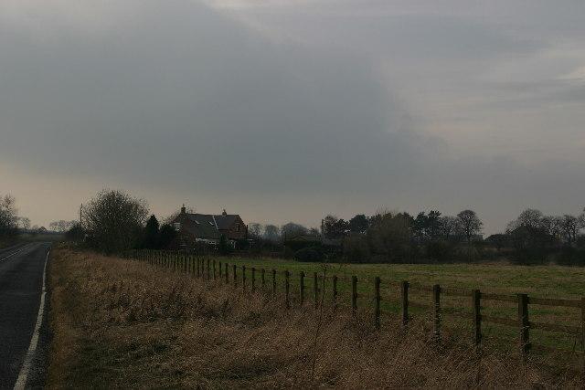 Road between Dinnington and Prestwick