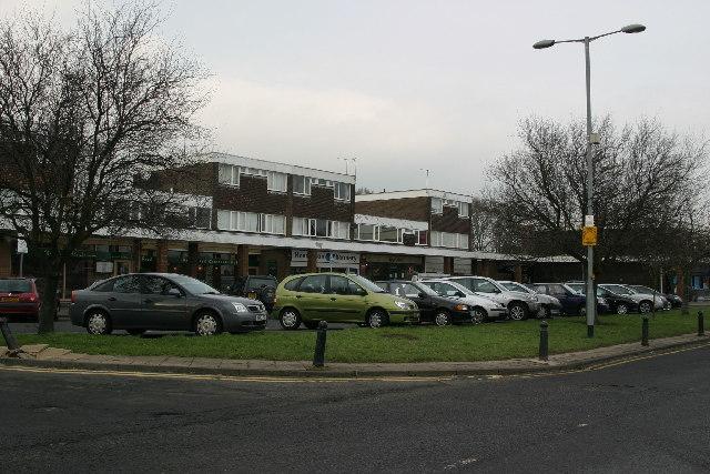 Shopping centre, Darras Hall, Ponteland
