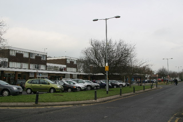 Shopping centre, Darras Hall, Ponteland