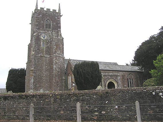 Plymtree parish church
