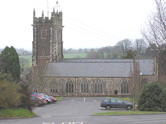 Kentisbeare parish church