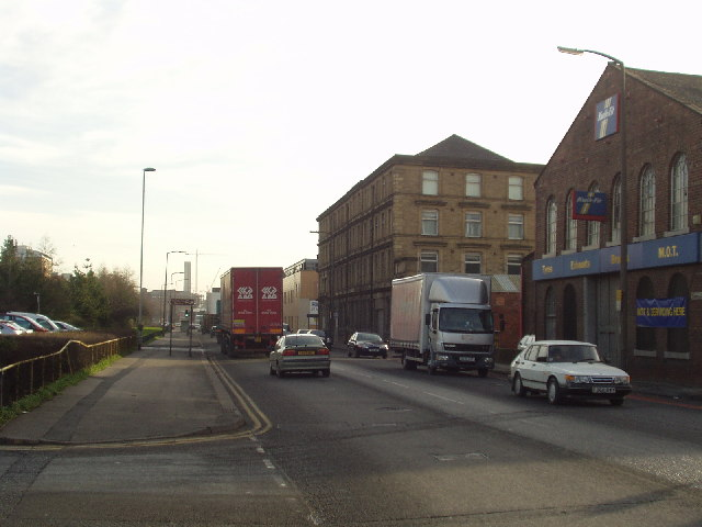 Kirkstall Road looking east by YTV