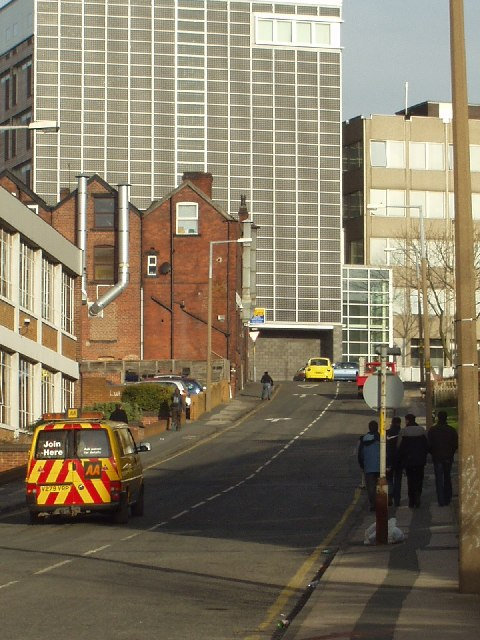 Marlborough Street, Leeds, with Park Lane College