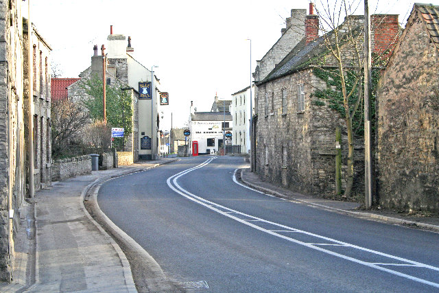 Monk Fryston Village Main Street