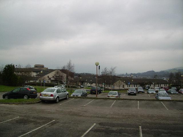 Car Park Westmorland General Hospital