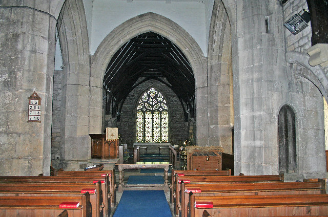Church Fenton, Interior of the Church of St Mary the Virgin (Kirk Fenton)