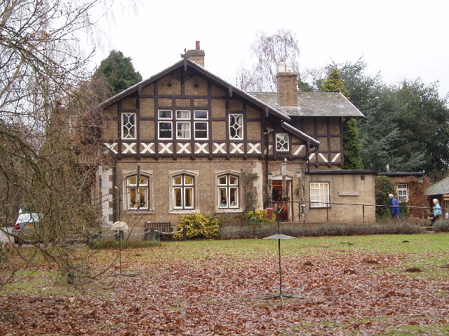 Entrance Lodge, RSPB reserve, Sandy