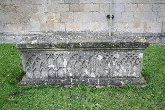 14th Century tomb chest